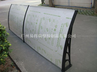 Wholesale YP60160 x160cm x63in high quality palstic polycarbonate door canopy
