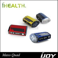 battery powered quads - iJoy Maxo Quad Box Mod W Powered by Quad Dual Battery Firmware Upgradeable Original