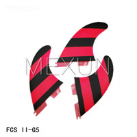 Wholesale High quality FCS II G5 fins with fiberglass honey comb material for surfing size M