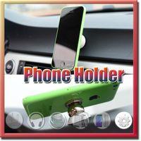 Wholesale Magnet Holder For Iphone Plus s s Degrees Support Holder for Samsung Magnetic Car Dashboard Mobile Mount Car Phone Holder