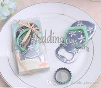 beach party themes - DHL Flip Flop Bottle Opener Wedding Favors Beach Theme Bridal Shower Party Event Favors wedding flip flops