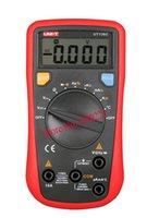 Wholesale UNI T UT136C Auto Range LCR Meter Multitester Data Hold DMM Digital Multimeters w Frequency Duty Cycle Test