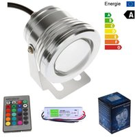 Wholesale 12V W RGB LED Underwater Swimming Pool Light IP68 Waterproof With A V V To V W A Transformer Driver