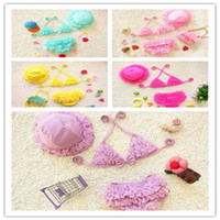 Cheap Bikinis baby clothes Best Children's Day 110-120CM girl bikinis
