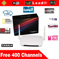 Wholesale Android Tv Box Media Player Quad Core Q9 Iptv Box With Year Free Leadtv Arabic IPTV cription French Canal