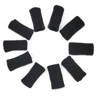arthritis aids - 10PCS Stretchy Finger Sleeve Support Wrap Arthritis Guard Volleyball Sports Aid