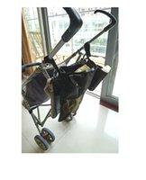 Wholesale 10 Baby stroller storage bag Dual purpose positive umbrella vehicle garden cart Bag Mummy Bag TRQ0375