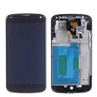 Wholesale For LG E960 LCD Display with Touch Screen Digitizer for LG E960 Nexus Replacement Black No With Frame DHL Free