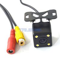 Wholesale 170 Car Rear View Reverse Backup Parking Camera LED Night Vision CCD V Curent Consumption car dvr