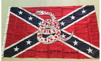 Wholesale Confederate Battle Flags cm Consfederate Flag Confederate Rebel Civil War Flag National Polyester Flags Free DHL Shipping