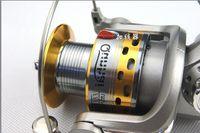 Wholesale ishing Fishing Reels New BB Fly Fishing Reel Gear High Quality Spool carretilha baitcasting Reel Feeder Spinning Carp Ice Fishing