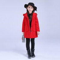 Wholesale Girl hair coat The new autumn and winter coat thickening Children s coat