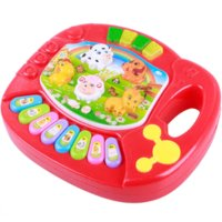 Wholesale New Useful Baby Kid Musical Educational Animal Farm Piano Music Toy Developmental piano cakes toy sack