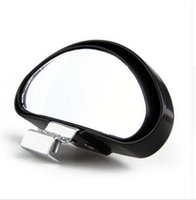 Wholesale Hot Sale PVC Car Mirror Adjustable Wide Angle View Blind Spot Back Rear View Mirror Brand