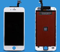 al por mayor aa grado-Asamblea libre del digitizador de la pantalla táctil de la exhibición del LCD del iPhone 6 del grado AA del envío de DHL con el reemplazo de la reparación del capítulo para Apple iPhone6