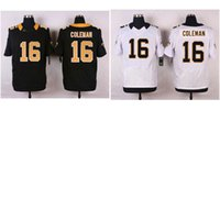 american coleman - Men s American Football Jerseys Saints Brandon Coleman Stitched Elite Jersey White Black Mix Order Drop Shipping Available