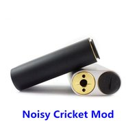 battery for cricket - 100 Original Wismec Noisy Cricket Box Mod High Power Mechanical Mod Noisy cricket Mods with Dual Batteries for RDA RBA Tank Atomizer