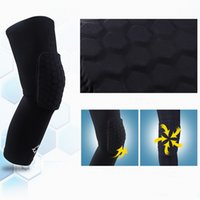 Wholesale 1 pc Sports equipment Honeycomb Kneepad crashproof anticollision knee cap knees Protection Basketball knee pads kneelet