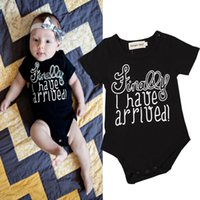 baby leopard costume - poke Newborn INS Baby Boys Rompers Costumes Lovely Child Letters Printed Jumpsuit One piece Romper Cotton hight quality