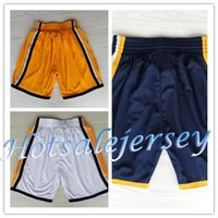 Wholesale High Quality New Material Shorts Paul George Basketball Shorts Indiana George Sports Shorts Color