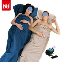 Wholesale Naturhike Brand Super Light Weight Spring And Autumn Single Warm Sleeping Bag Liner Envelop Type g Cotton Material Easy Carry