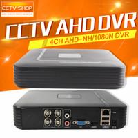 Mini HD 960P 720P enregistrement 4Ch AHD-NH / 1080N Ou 960H (analogique) vidéo DVR CCTV 4 Sortie enregistreur vidéo numérique HDMI Canal AHD