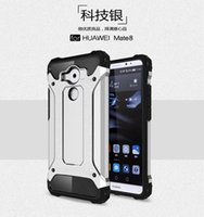 armor lite - Dual Layer TPU Bumper PC Hard in Strong Armor Case Full Body Protection for Huawei Mate Huawei P9 P9 Lite P8 Lite