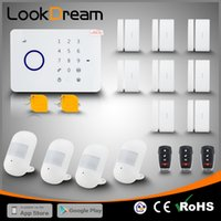 Wholesale APP Control Wireless Home Security Burglar Digital GSM Alarm Systems Touch Keypad With RFID Card DIY Simple Operation