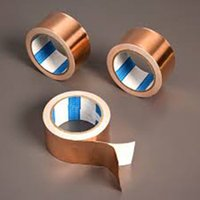 adhesive copper foil - 2016 High electric conductivity copper foil tape single electric cooper foil mm conductive glue copper adhesive foil tape