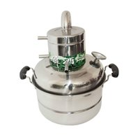 Wholesale L Stainless Spirits Alcohol Distiller Boiler Home Brew Equipment Wine Maker With Thermometer