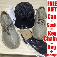 rubber keychain - Mens Boost Running Shoes Womens Sneakers Pirate Black Oxford Tan Moonrock Turtle dove Boost with cap Keychain socks bag recepit