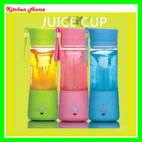Wholesale New Hot ml Portable Electric Fruit Juicer Cup Vegetable Citrus Blender Juicer with USB charger