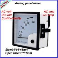 96 AC вольт метров однофазный аналоговой панели HN-96 ACV