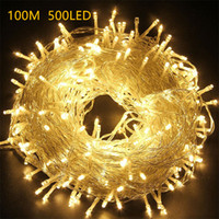 Wholesale New Lead Fairy String Lamp Outdoor LED Christmas Lights LED Strings M LED Waterproof Color Lights Decorations for Holiday Lighting