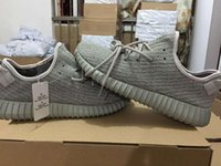 Wholesale Top Yeezy MoonRock Beige Boost Original Quality Yeezy Boost Men Womens Athletic Pirate Black Turtle Dove Gray Red October Running Shoes