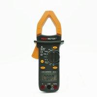 Cheap Professional 4000 Counts Manual Ranging Digital AC DC Clamp Meter with Backlit Similar with Fluke ClampMeter PEAKMETER MS2101 Multimeter