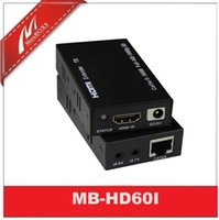 Wholesale 60M HDMI Extender With IR Via One Cat5e Cable