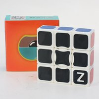 Wholesale Z CUBE X3X3 White Magic Cube White Pure Imported Stickers Puzzle Cube High Skill Competition Toys Factory Outlet
