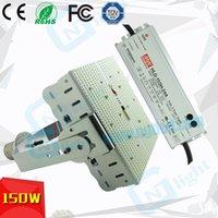 e39 e40 llevó reemplazo para 1000w de metal 150w caja de zapatos haluro luz led kit de actualización del controlador meanwell 2835 SMD aparcamiento alumbrado exterior