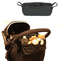 baby buggy basket - Baby car hanging basket baby stroller convenient and practical stroller tray By Bag Mummy bag pouch stroller accessories