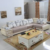 Wholesale mordern European design sofa set for sitting room home furniture