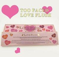 Wholesale Newest Promotional Love Flush Blush Long Lasting hour Wardrobe Palette colors Blush Face Makeup