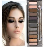 Wholesale HIGH Quality Makeup NUDE Smoky Palette Color Eyeshadow Palette g High quality DHL