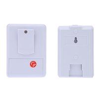 Wholesale Wireless Infrared Sensor Doorbell Monitor Detector Entry Door Bell Alarm Chime Welcome Device