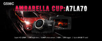 Wholesale GS98C Car DVR Ambarella A7 Dash Cam Inch FHD P MP Camcorder Degree Wide Angle G Sensor HDR With GPS Module