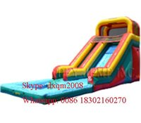 > 3 years old best swing sets - 2016 Best quality new arrival water inflatable slide pool combo inflatable water slide in factory price
