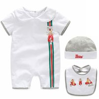 Wholesale new arrival summer baby romper set kids polo baby romper boy girl set shorts suit Children s set clothing High Quality