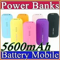 battery charging power supply - Free UPS Battery charge Power Bank mAh Portable powerbank External Battery power supply mobile charger for mobile phone E YD
