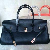 aaa quality handbags - AAA Quality JPG cm All Cow Leather Women Handbag with Gold Hardware Luxury Brand Designer Birk Bag