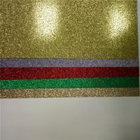 Wholesale low price gold glitter paper for decor